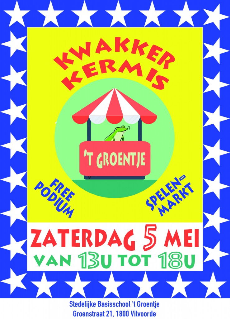 Affiche Kwakkerkermis