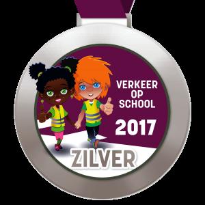 Digitale schoolpoortmedaille Zilver 2017
